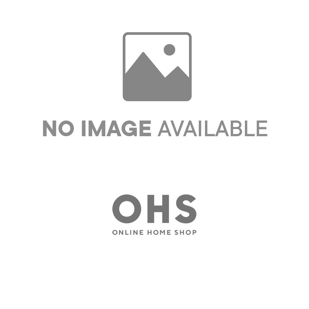 4pc Complete Teddy Fleece Duvet Set Charcoal