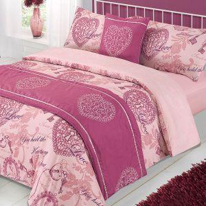 Antoinette Bed in a Bag Duvet Set, Sheet,  Mauve