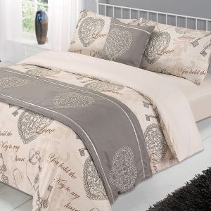 Lock and Key 6pc Bed in a Bag Set - Natural