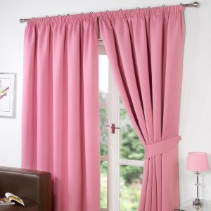 Oxford Thermal Blackout Curtains - Pink