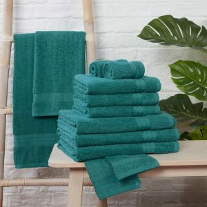 Brentfords Towel Bale 12 Piece - Teal