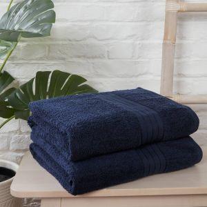 2pc Towel Bale - Navy