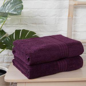 2pc Towel Bale - Purple