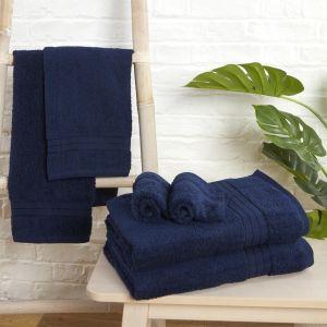 Brentfords Towel Bale 6 Piece - Navy