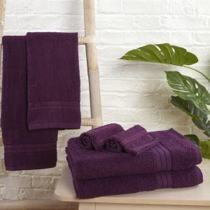 Towel Bale 6 Piece - Purple