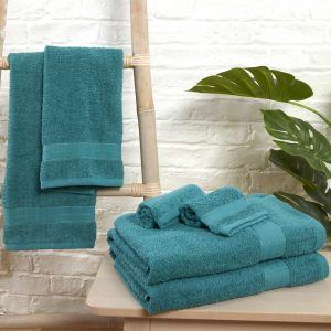 6pc 500gsm Towel Bale - Teal