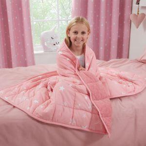 Kids Weighted Blanket, Blush- 3kg 100X150CM