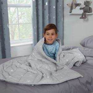 Kids Weighted Blanket, Grey- 3kg 100X150CM
