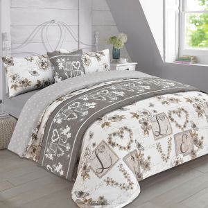 Floral Taupe Complete Set