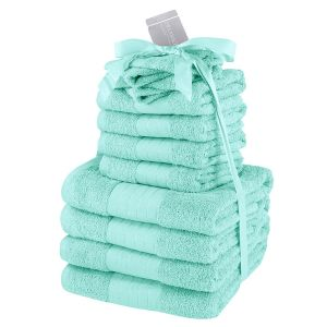 12pc Towel Bale - Aqua