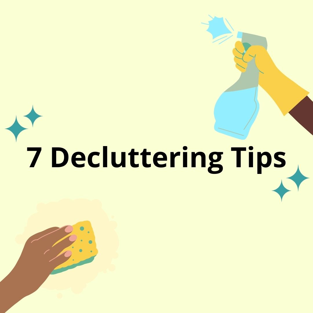 7 Decluttering Ideas For Spring